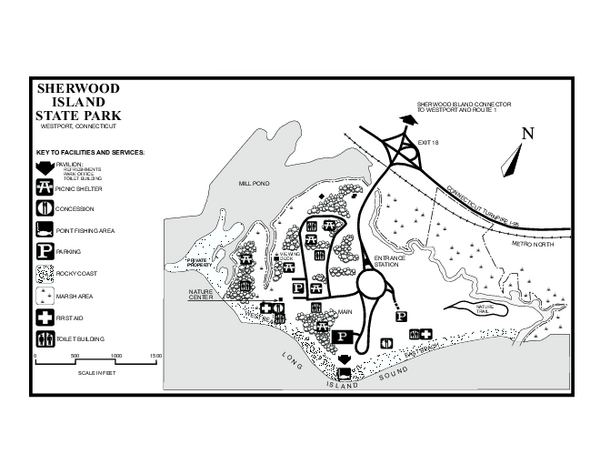 Sherwood Island State Park Hiking Trails