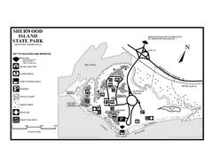 Sherwood Island State Park map