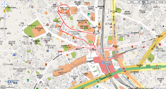 Shibuya Tourist Map