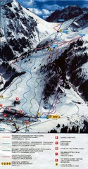 Shymbulak Ski Trail Map