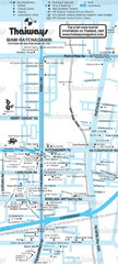 Siam Area, Bangkok, Thailand Map