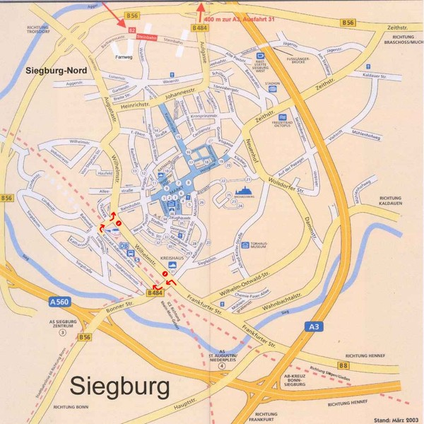 Siegburg Map Siegburg Germany mappery