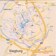 Siegburg Map
