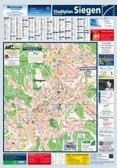 Siegen Tourist Map