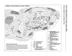 Sierra College Campus Map