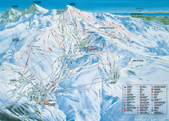 Sierra Nevada Ski Resort Map