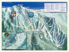 Sierra-at-Tahoe Ski Trail Map