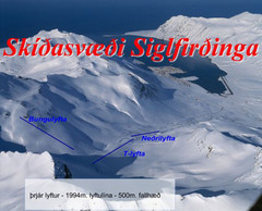 Siglufjordur Ski Trail Map