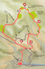 Sikia Circular Walk Map