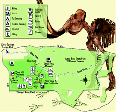 Silver River State Park Map