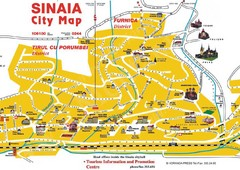 Sinaia Map