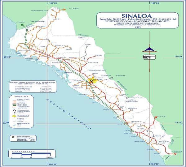 Costa Azul Mexico Beach Map   Costa Azul Mexico • mappery