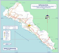 Sinaloa Map