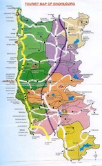 Sindhuderg Tourist Map