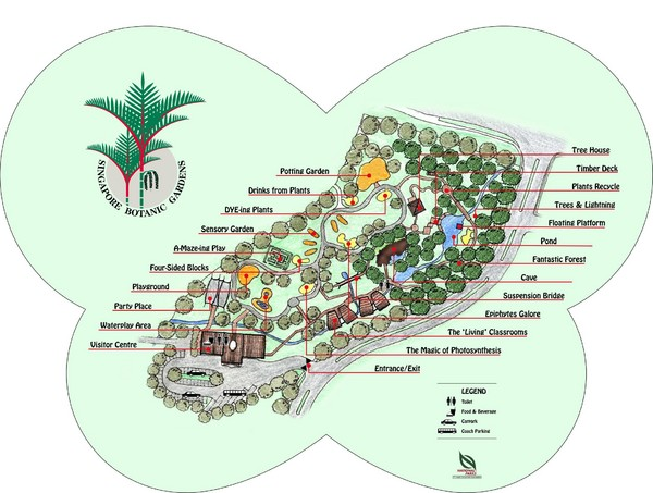 Singapore Singapore  city images : Singapore Botanic Gardens Location Map | About Singapore City MRT ...