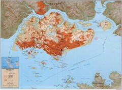 Singapore Built Up Area Map