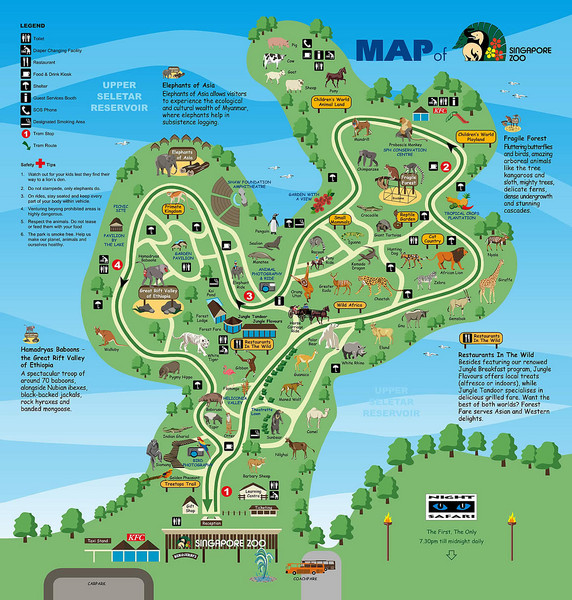Johor Bahru Tourist Map Johor Bahru mappery – Tourist Attractions Map In Singapore