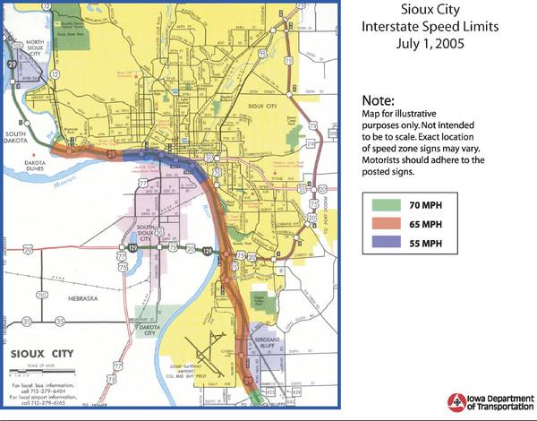 Fullsize Sioux City, Iowa City Map. 42.489678 -96.404948 10 satellite