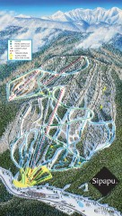 Sipapu Ski Trail Map
