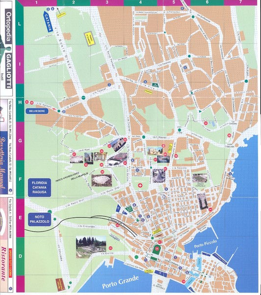 Siracusa Map siracusa it mappery