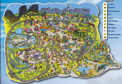 Six Flags St. Louis Map