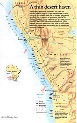 Skeleton Coast Map