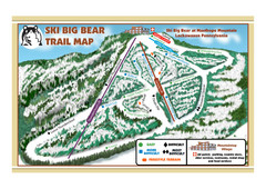 Ski Big Bear Ski Trail Map