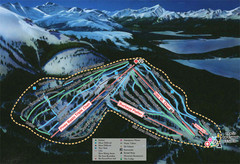 Ski Cooper Ski Trail Map