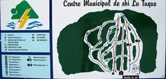 Ski La Tuque Ski Trail Map
