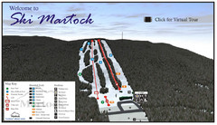 Ski Martock Ski Trail Map