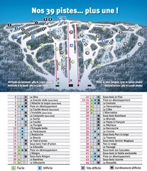 Ski Mont Shefford Ski Trail Map