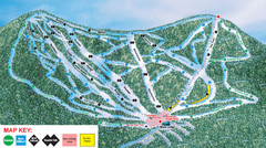 Ski Plattekill Ski Trail Map