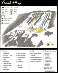 Ski Sawmill Family Resort Trail Map