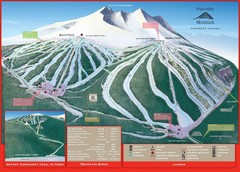 Ski Smithers Ski Trail Map