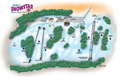 Ski Snowstar Ski Trail Map