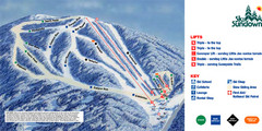 Ski Sundown Ski Trail Map