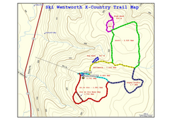 Ski Wentworth Nordic Ski Trail Map