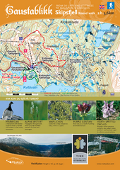 Skipsfjellet Hiking Map