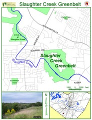 Slaughter Creek Greenbelt Map