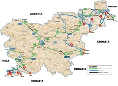 Slovenia Highways Map
