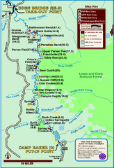Smith River State Park Map