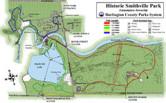 Smithville Park Trail Map