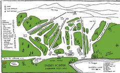 Smokey Mountain Ski Club Ski Trail Map