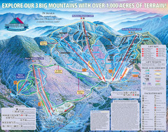 Smugglers' Notch Resort Ski Trail Map