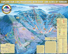 Smugglers' Notch Ski Trail map 2006-07