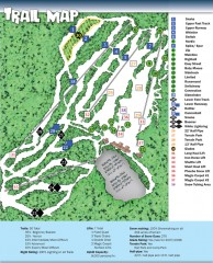Sno Mountain Ski Trail Map