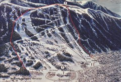 Snow King Ski Area Ski Trail Map