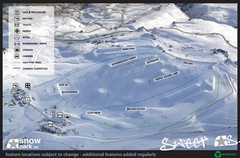 Snow Park Ski Trail Map