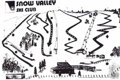 Snow Valley Ski Club ? Ski Trail Map