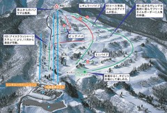 Snow Wave Park Shiratori Kōgen Ski Trail Map